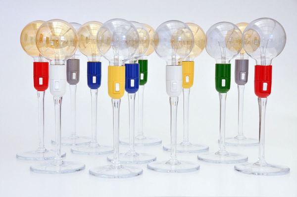 Wine Glass-Like Lighting