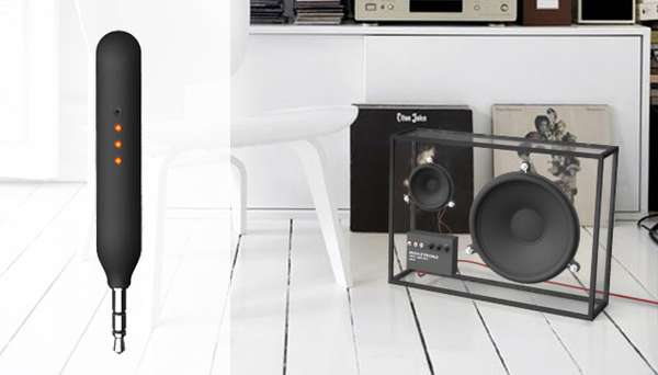 Transparent Music Boomboxes