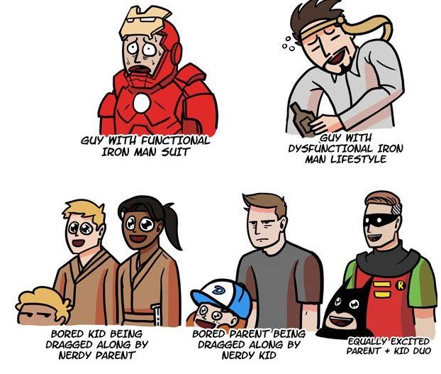 Nerd Convention Stereotypes