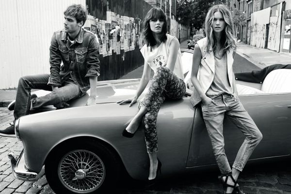 Car-Lounging Fashion Ads