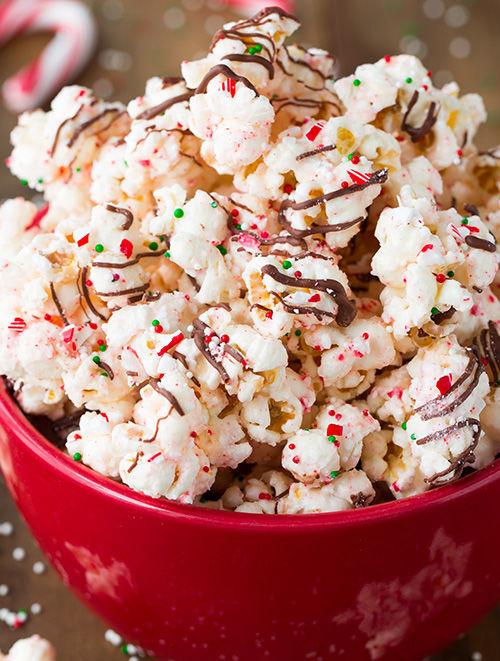 Peppermint Popcorn Recipes