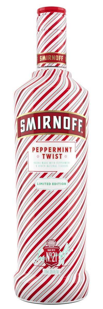 Holiday Peppermint Vodkas