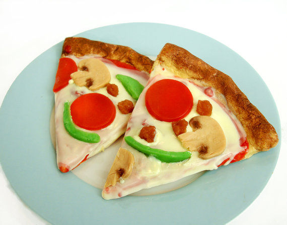 Pepperoni Pizza Soaps