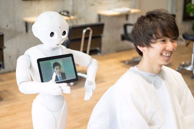 Haircut-Suggesting Robots