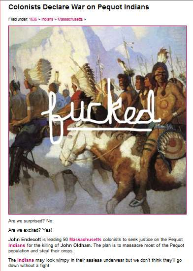 Historical Knock-Off Blogs