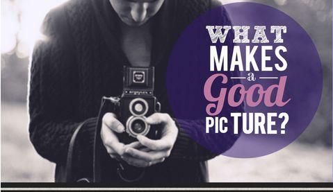 Photo-Perfecting Infographics