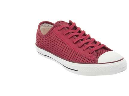 Perforated Chuck Taylor Converse