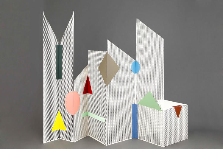 Playful Perforated Room Dividers