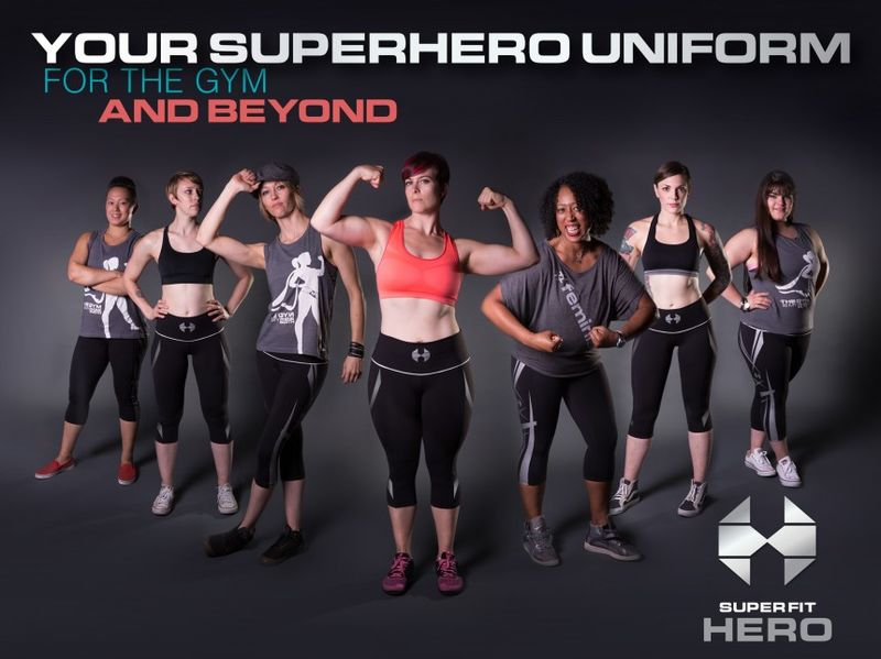 Superhero-Inspired Activewear