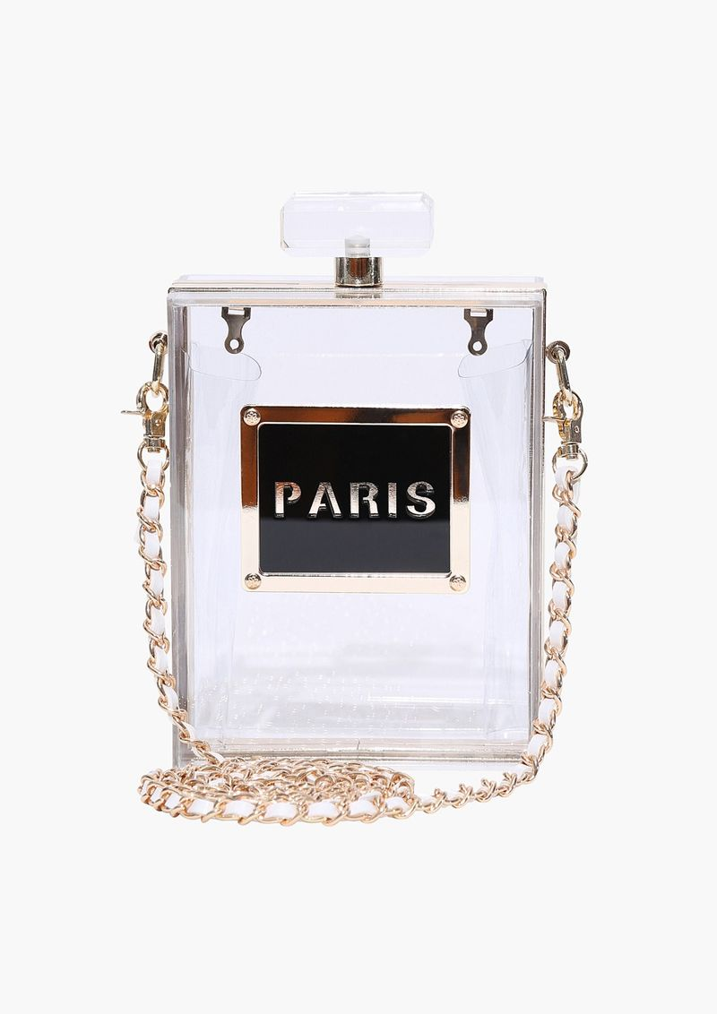Chic Perfume Bottle Clutches