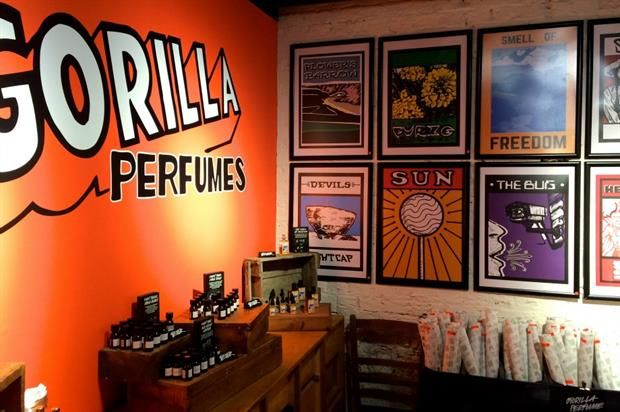Retail Perfume Galleries