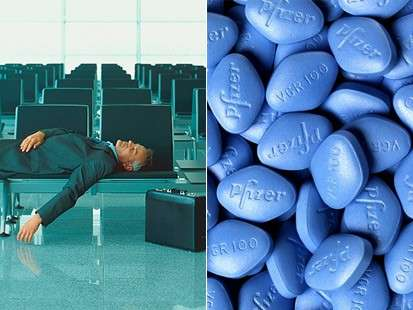Perhaps Viagra Can Soften Jet Lags Impact