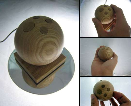 Wooden Orb Mouse