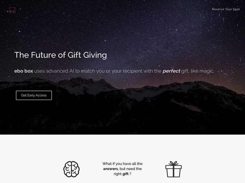 AI-Enabled Gift Services