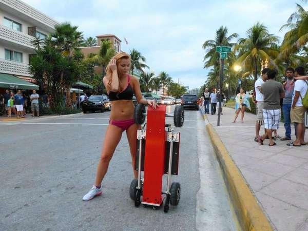 Segway-Skateboard Hybrids