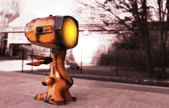 Endearing Droid Lamps