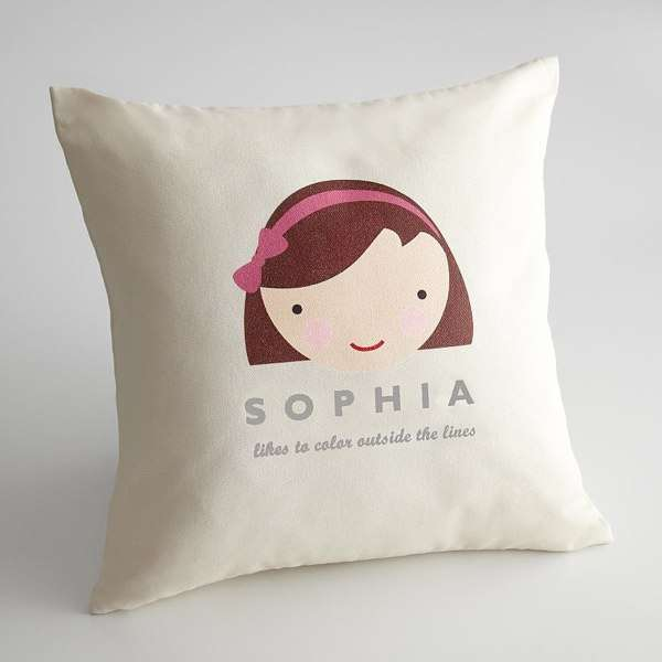Personalized Kids Faces Pillow Covers