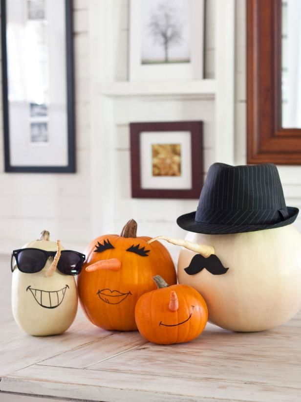 DIY Personalized Pumpkins