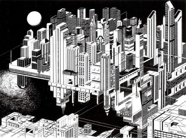 Optical Illusion Cityscapes