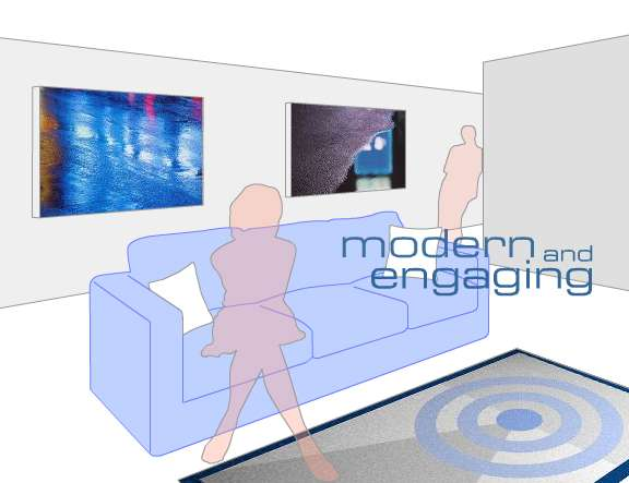 Modern & Engaging Decor