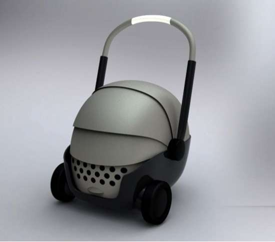 Sleek Pet Carriages Pet Carriers