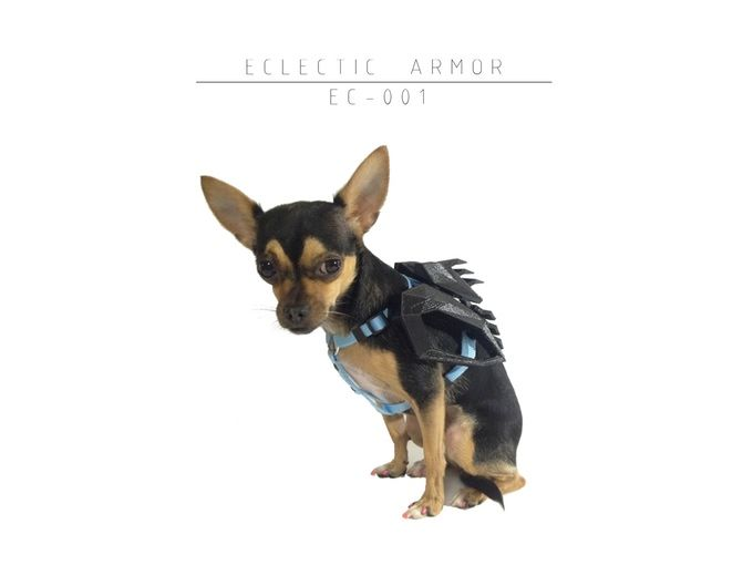 Reflective Dog Armor Pet Outfits