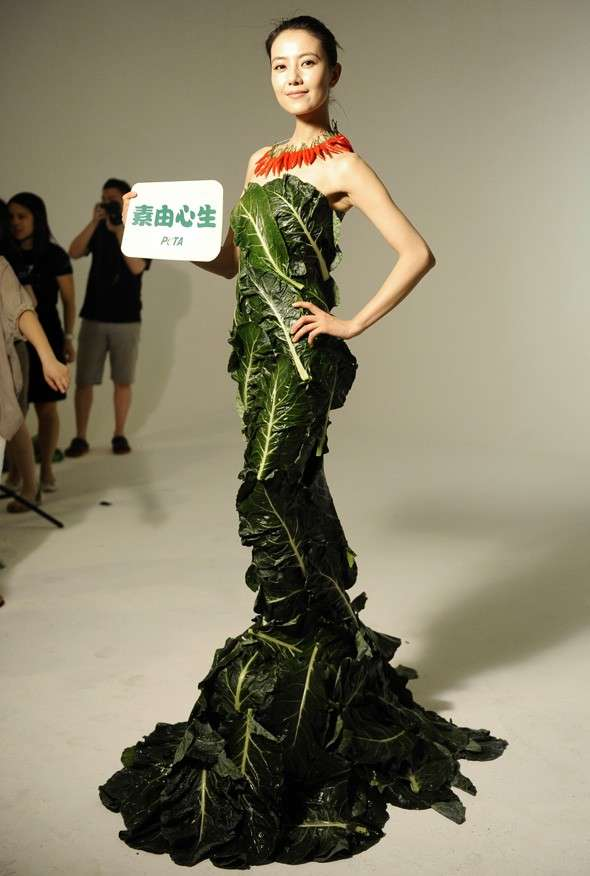 PETA Lettuce Dress