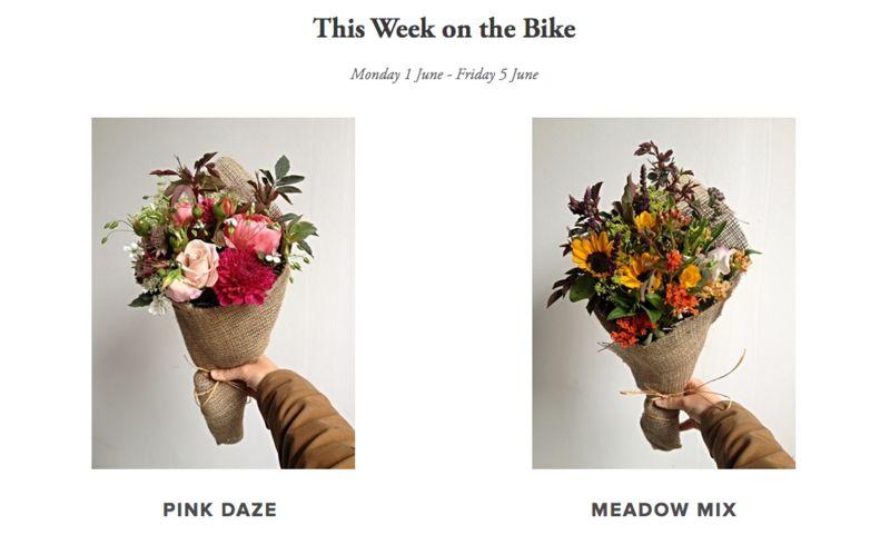 Bouquet Bike Deliveries