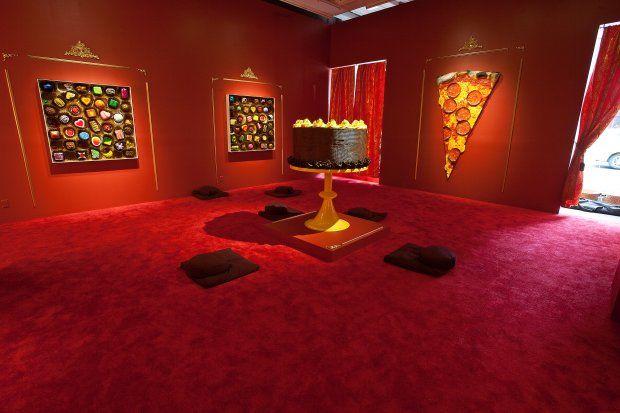 Religious Food Sculptures