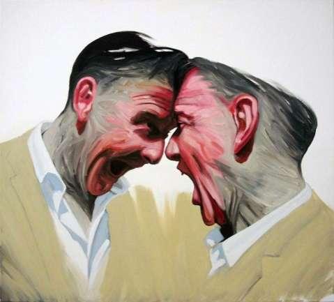 Enigmatic Gentlemen Paintings