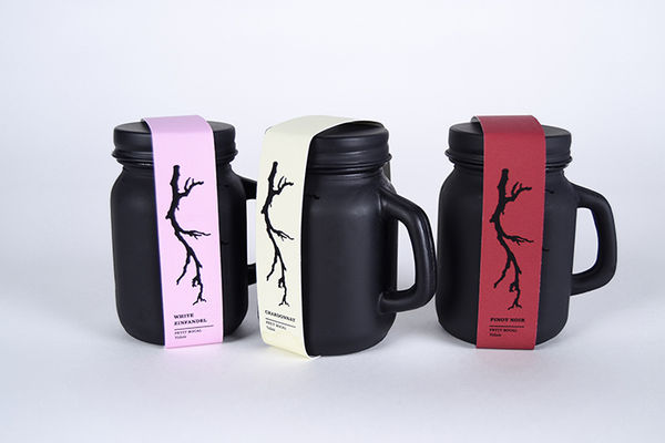 Mason Jar Wine Packaging