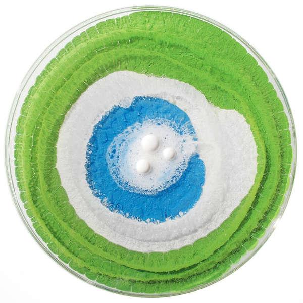Vibrant Bacteria-Like Paintings