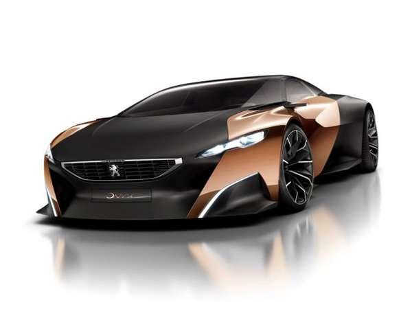 Metallic Luxury Vehicles