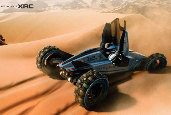 Life-Sized R/C Car Concepts