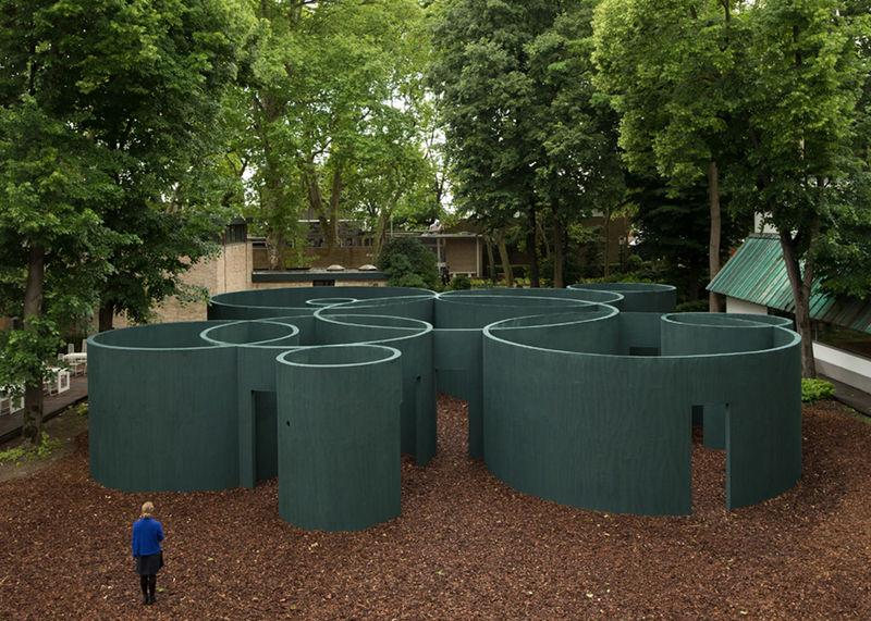 Circular Maze Pavilions