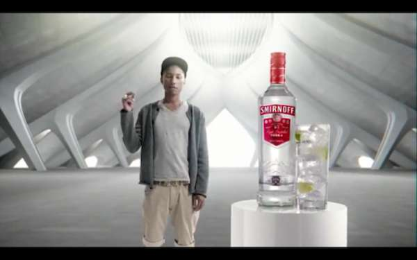 Hip-Hop Vodka Commercials