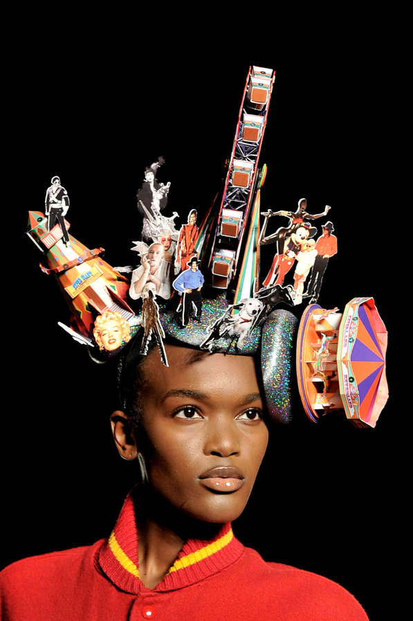 Thriller-Inspired Fascinators