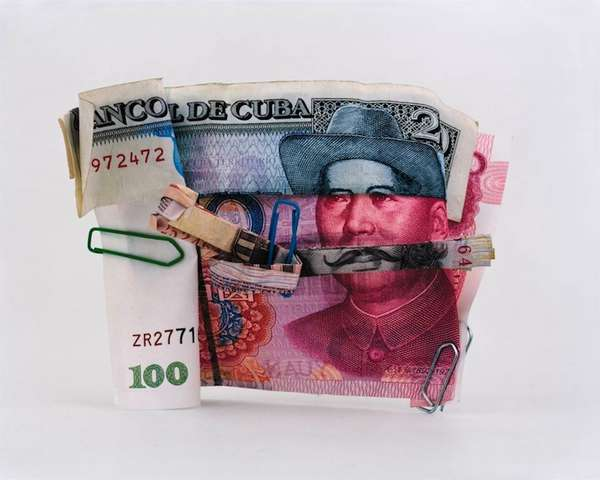 Worldly Currency Collages