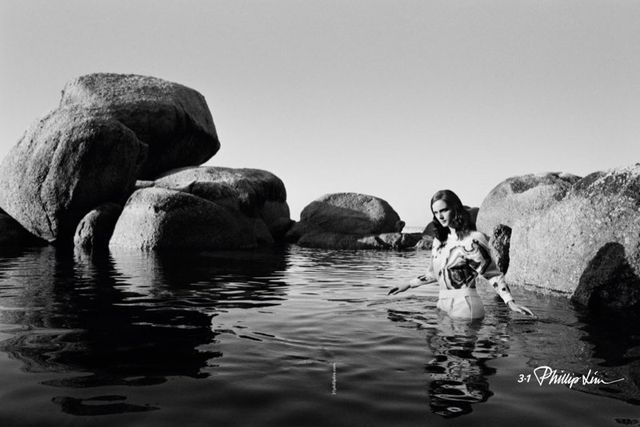 Water Treading Fashion Campaigns