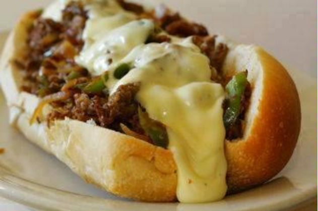 Succulent Cheese Steak Sandwiches