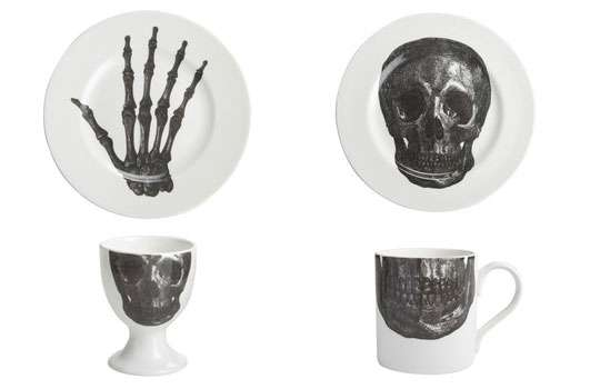 Skeletal Dinnerware