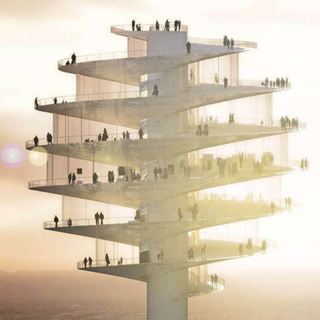 Intricate Viewing Towers