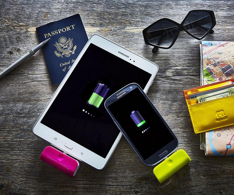 Single-Use Phone Batteries