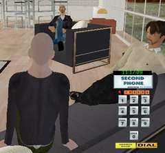 Real Phone Calls in Virtual Worlds