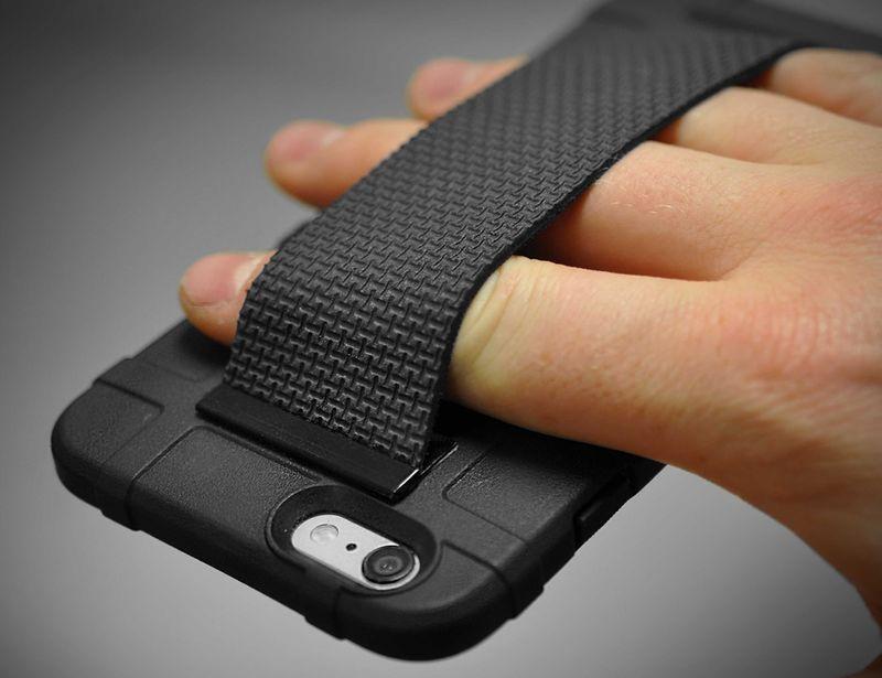 Secure Elastic Device Straps