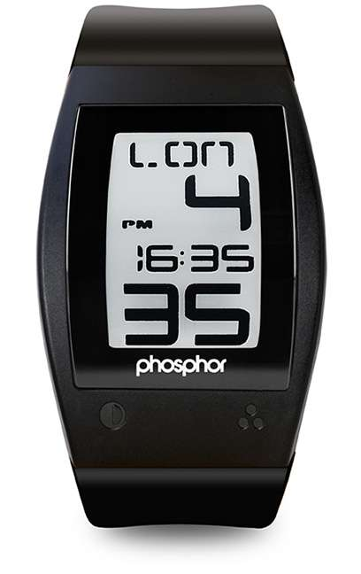 Phosphor World Time Watch