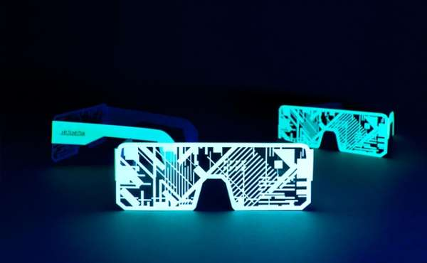 phosphorescent accesories by murmure