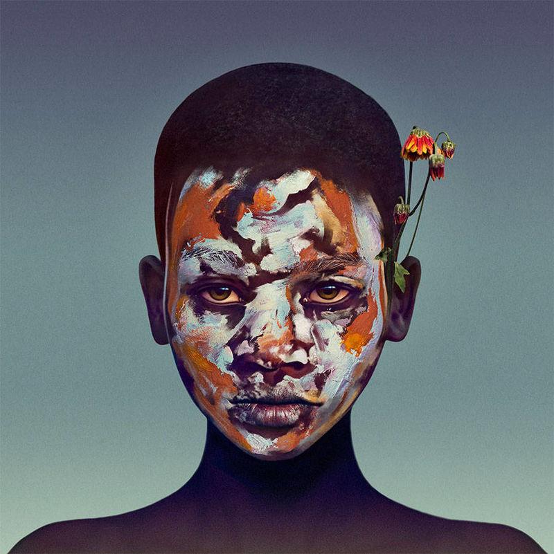 Tribal Face Paint Portraits