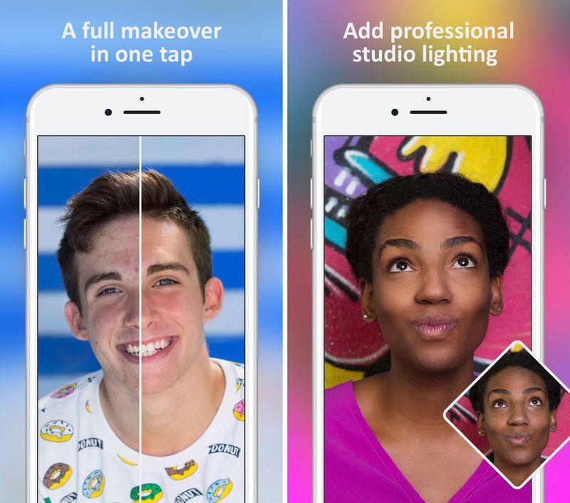 Digital Makeover Selfie Apps