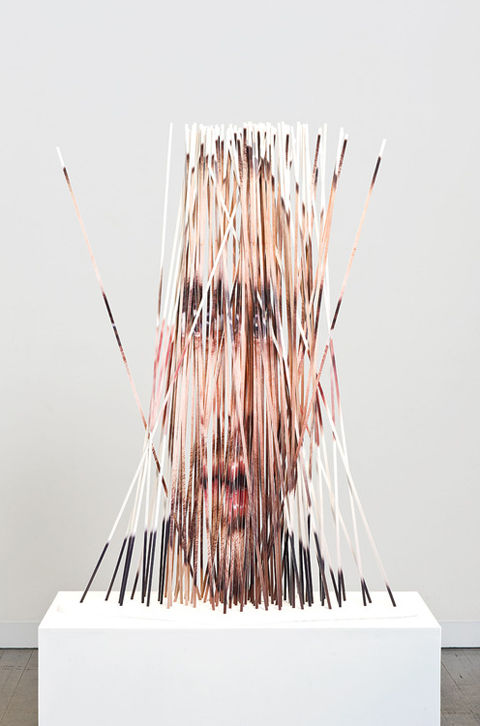 Fragmented Photo Sculptures